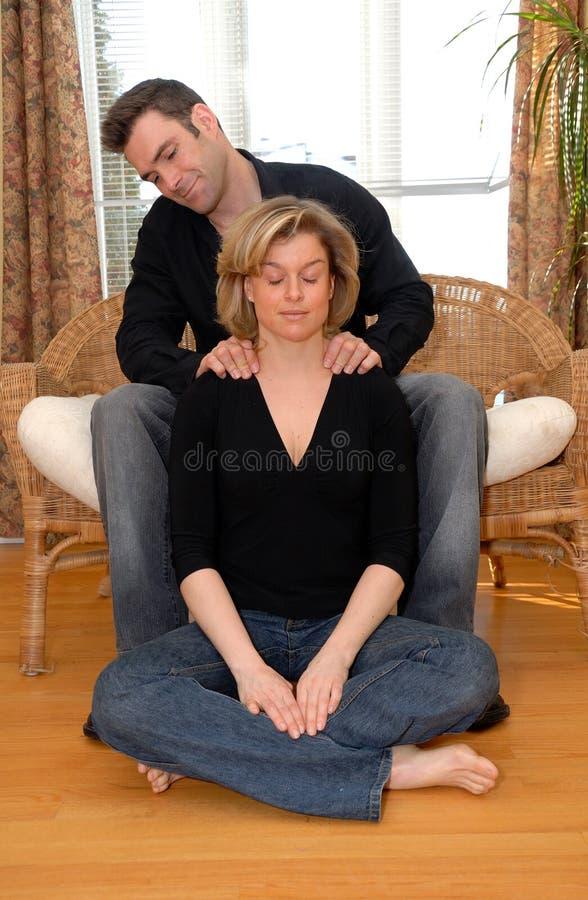 Tempo di massaggio immagini stock