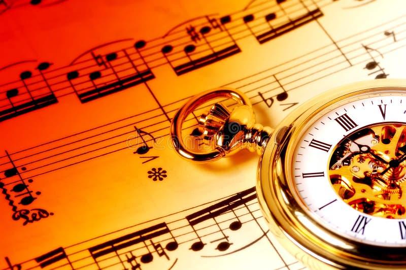 Tempo di musica fotografie stock libere da diritti