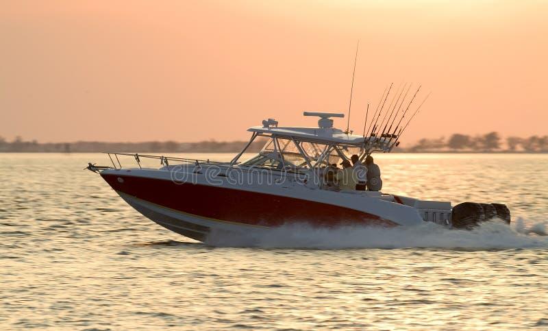 Tempo di pesca fotografia stock