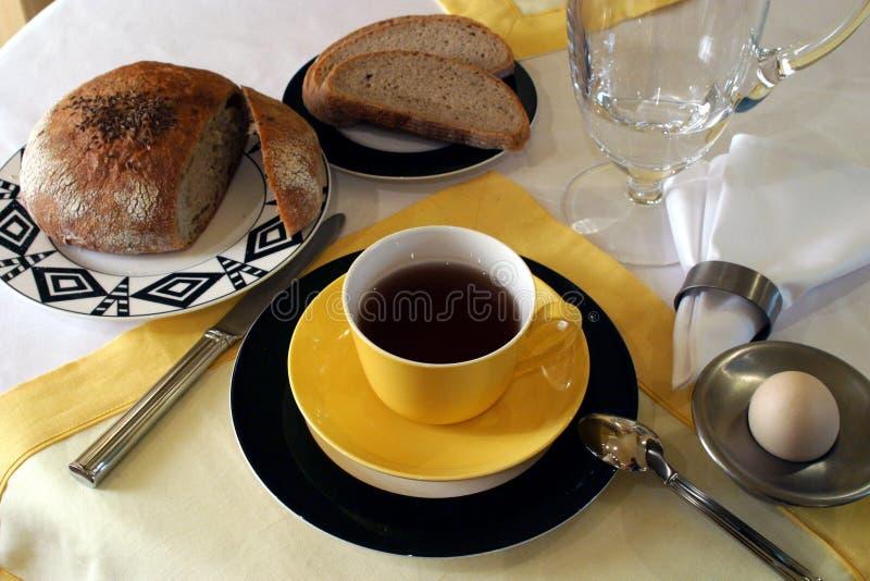 Tempo di prima colazione fotografie stock libere da diritti
