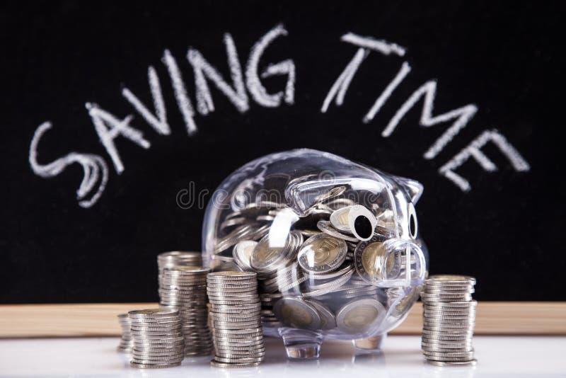 Tempo di risparmio! fotografia stock libera da diritti