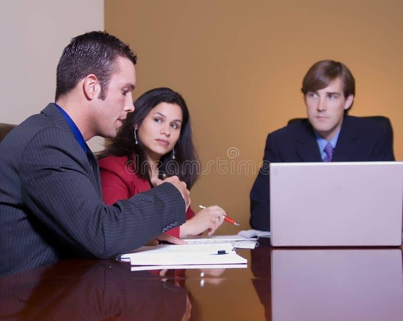 Tempo di riunione fotografie stock libere da diritti