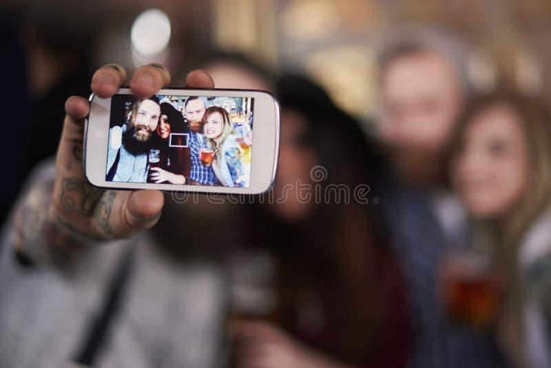 Tempo di Selfie! fotografia stock