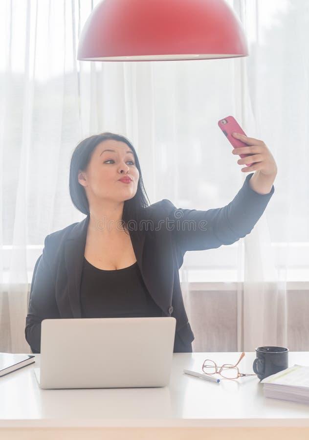 Tempo di Selfie fotografia stock libera da diritti