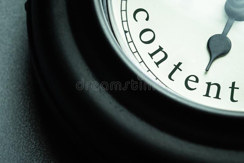 Tempo di soddisfare fotografie stock libere da diritti