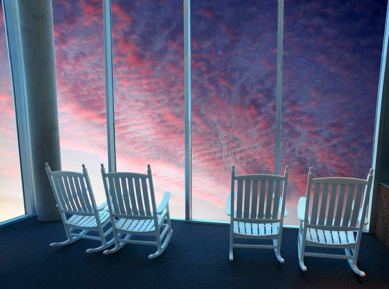 Download Tempo di sogno immagine stock. Immagine di viola, presidenza - 7318013