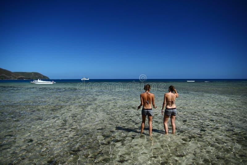 Tempo di vacanza - Fiji nel South Pacific fotografia stock