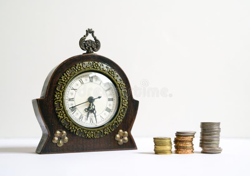 Tempo ? dinheiro conceito imagem de stock royalty free
