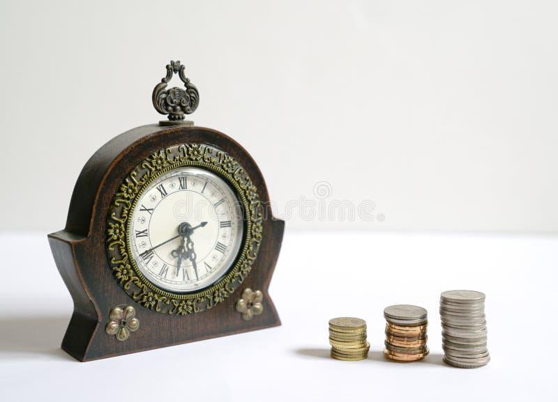 Tempo ? dinheiro conceito fotografia de stock royalty free