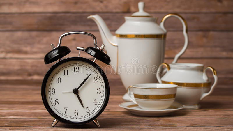 Tempo do chá fotografia de stock royalty free