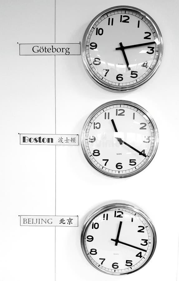 Tempo do mundo foto de stock