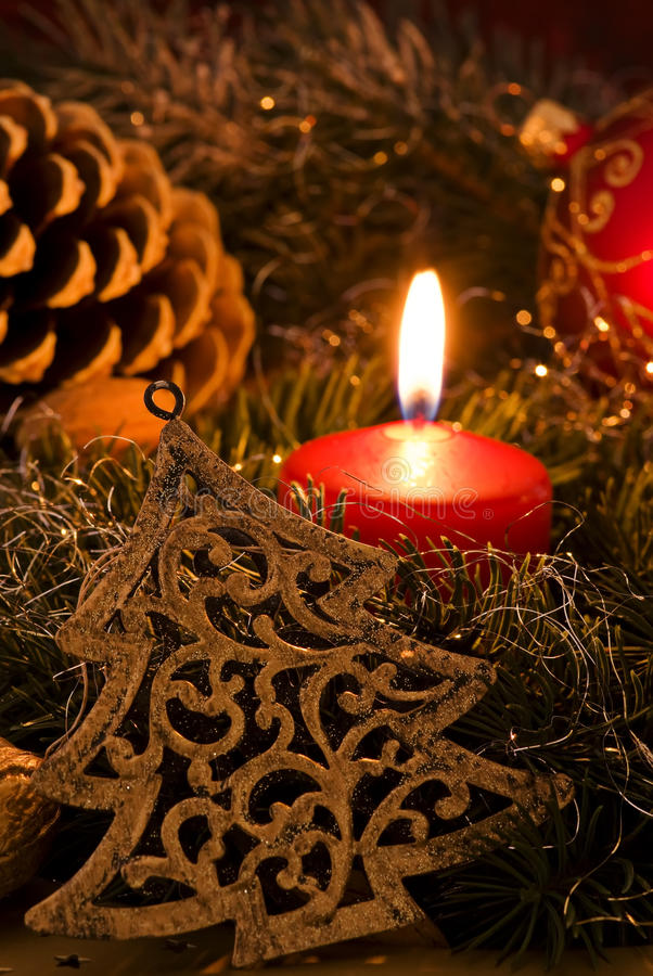 Tempo do Natal imagens de stock royalty free