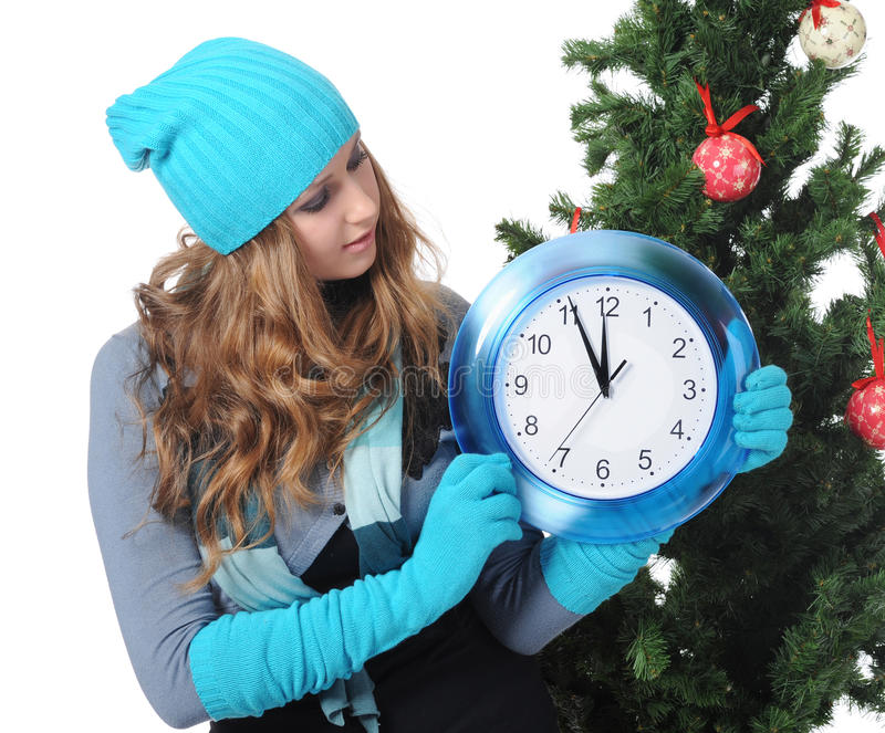 Download Tempo do Natal imagem de stock. Imagem de cute, fêmea - 16856171