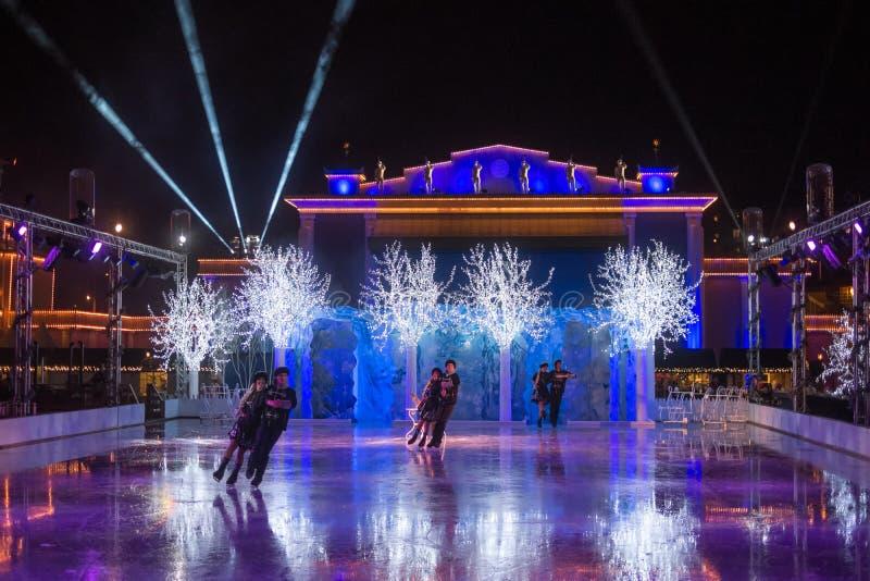 Tempo do Natal em Gothenburg foto de stock