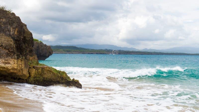 Tempo domenicano | La spiaggia | ¹ a di Sosà immagini stock