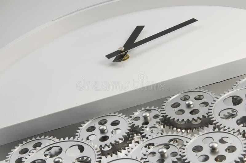 Tempo e engrenagem imagens de stock