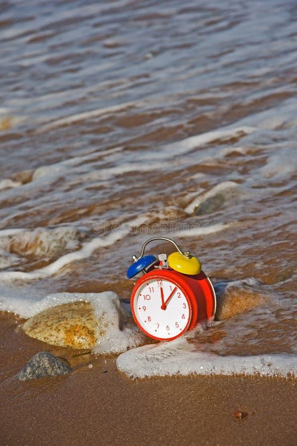 Tempo e maré. foto de stock royalty free