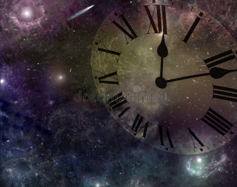 Tempo e spazio fotografia stock