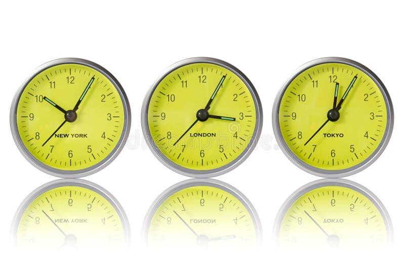 Download Tempo Em New York, Em Londres E Em Tokyo Foto de Stock - Imagem de relógio, conceito: 26511940