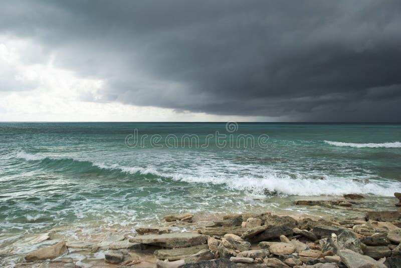 Tempo em Turk Island grande imagem de stock royalty free