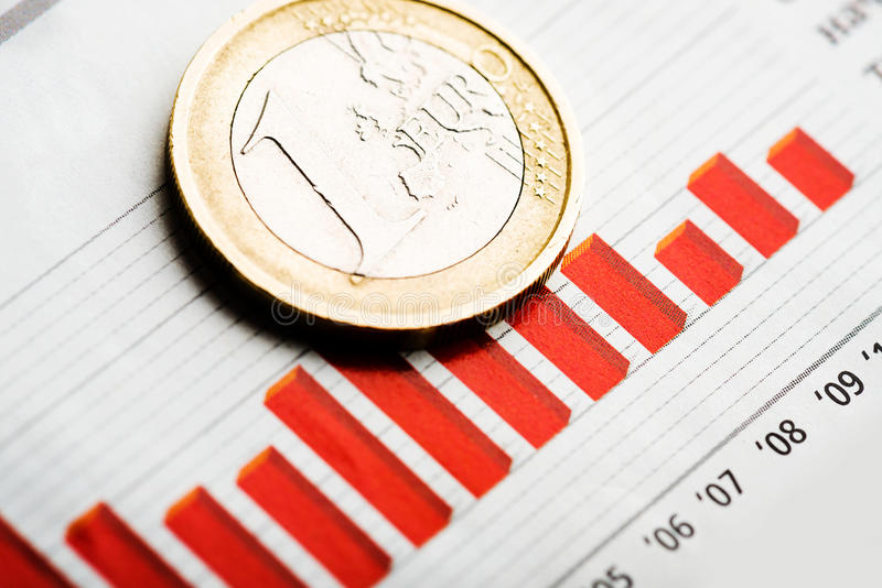 Tempo euro (płytki DOF) obrazy stock
