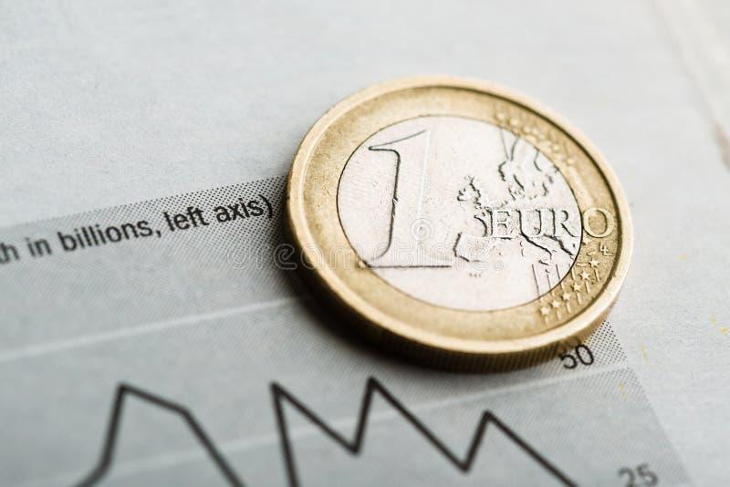 Tempo euro (płytki DOF) obrazy royalty free