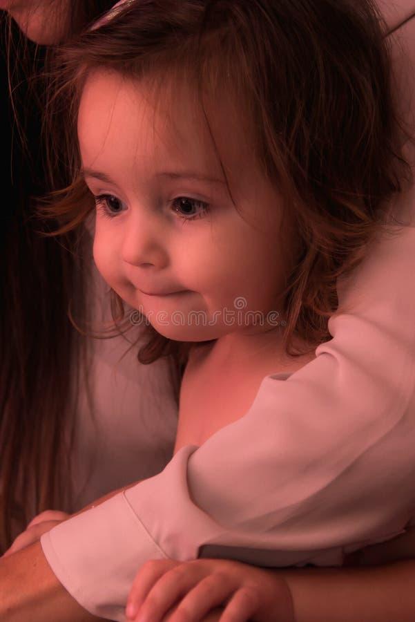Tempo feliz do bebê imagem de stock royalty free