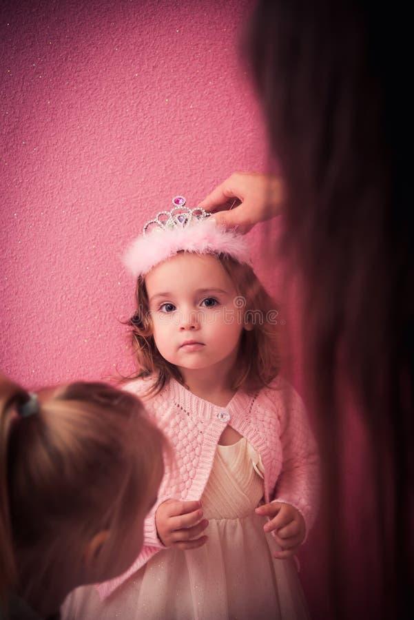 Tempo feliz do bebê imagens de stock royalty free