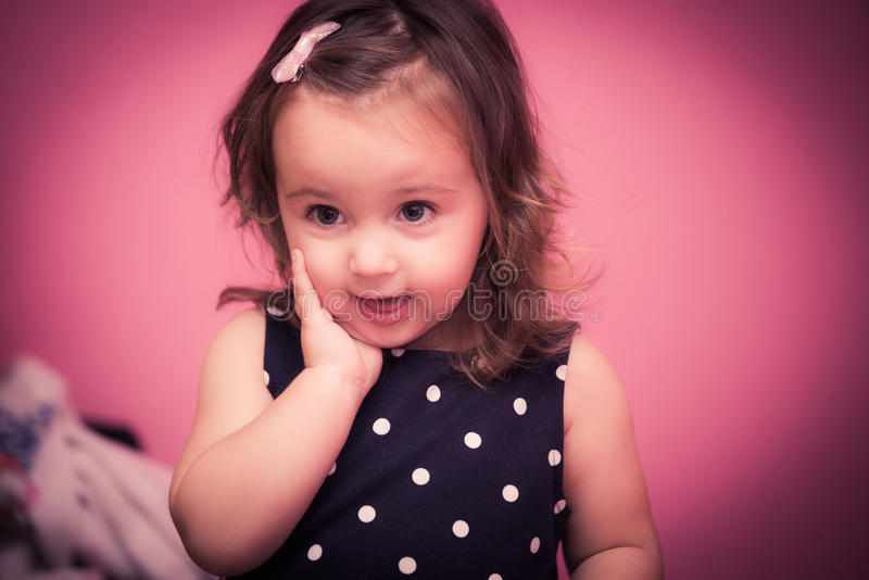 Tempo feliz do bebê fotos de stock royalty free