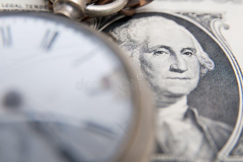 Tempo - i soldi immagini stock libere da diritti
