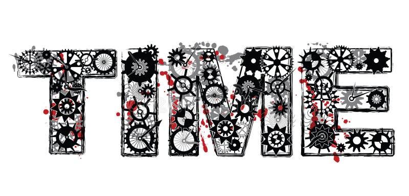 Tempo meccanico royalty illustrazione gratis
