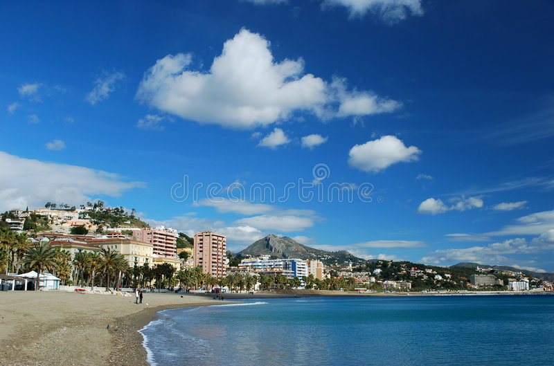 Tempo mediteranean agradável foto de stock