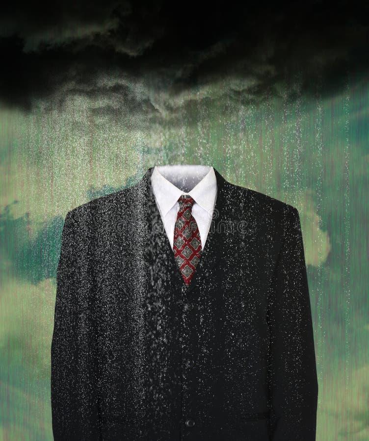 Tempo, meteorologista, chuva, nuvens de tempestade foto de stock royalty free