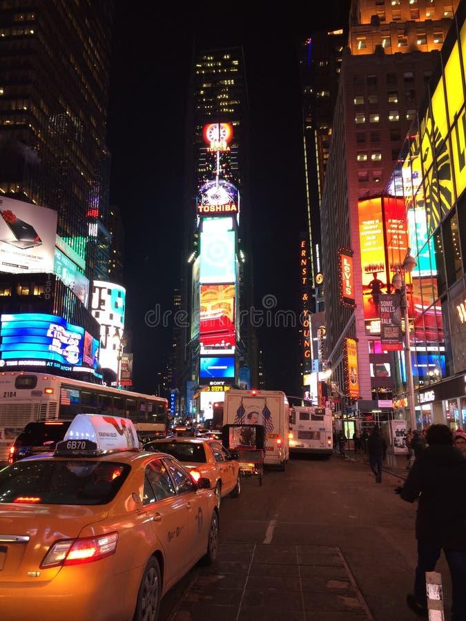 Tempo New York quadrato fotografia stock
