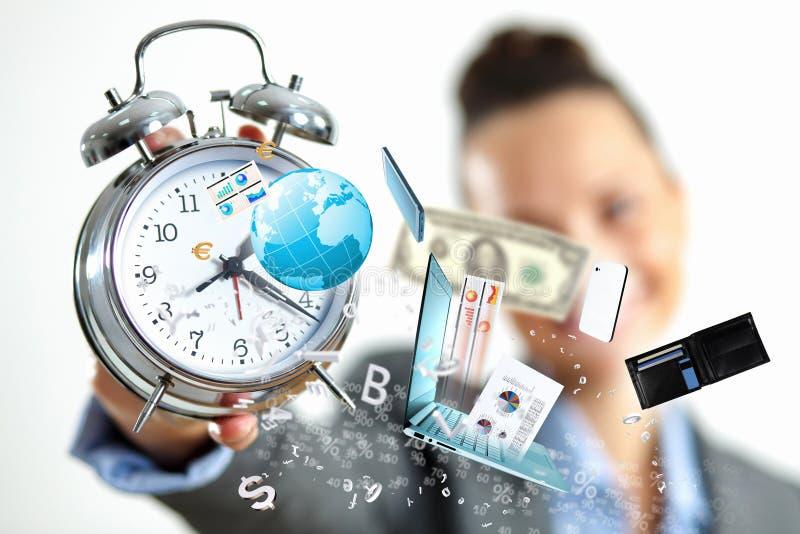 Tempo no negócio imagens de stock royalty free