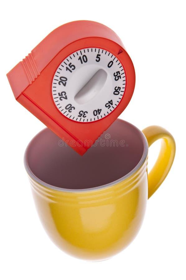 Tempo per caffè immagine stock