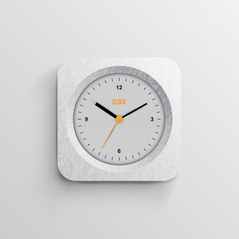 Tempo per l'orologio di concetto di progetto royalty illustrazione gratis