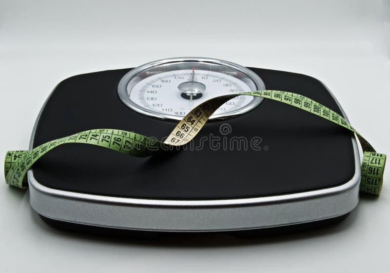 Tempo per la dieta fotografia stock