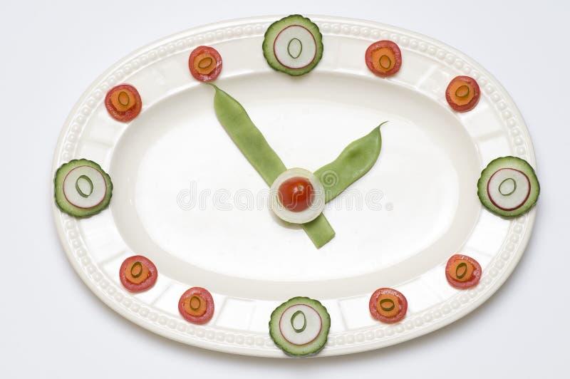Tempo per la dieta immagini stock libere da diritti