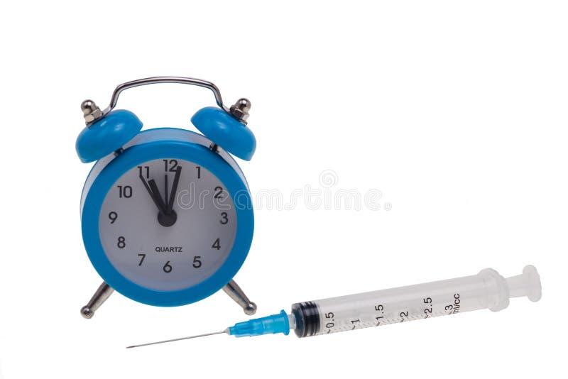 Tempo per le procedure mediche immagini stock libere da diritti
