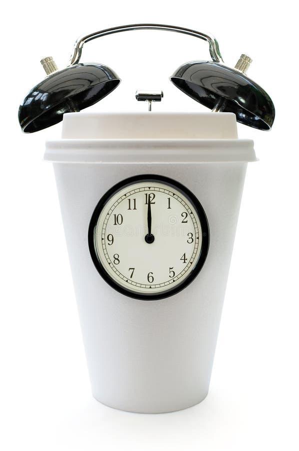 Tempo per una pausa caffè fotografia stock
