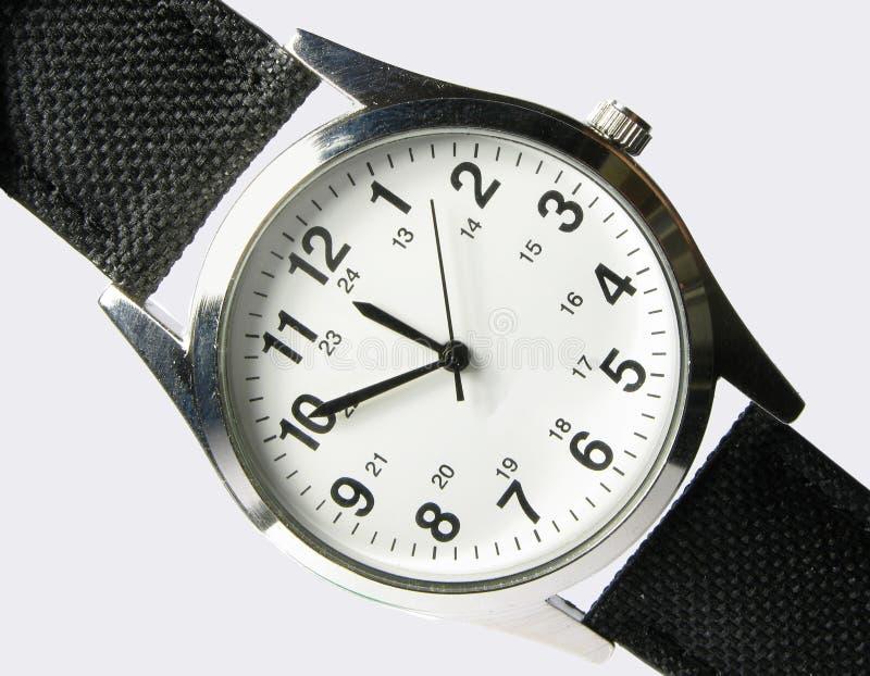 Tempo - relógio fotografia de stock