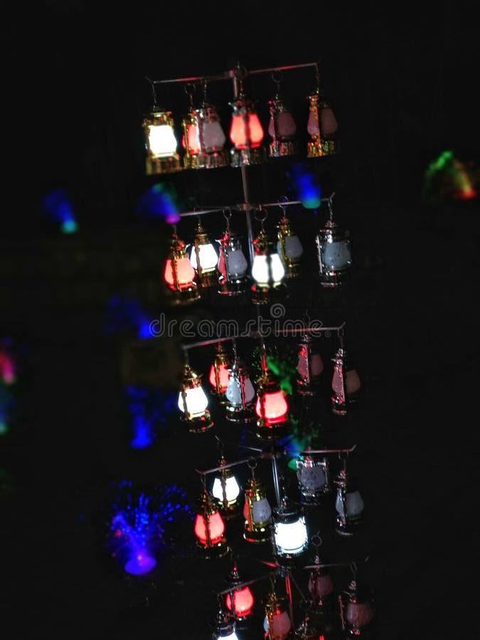 Temporada de luces de alumbrado fotografía de archivo libre de regalías