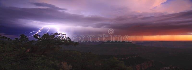 Temporal de Grand Canyon imagem de stock