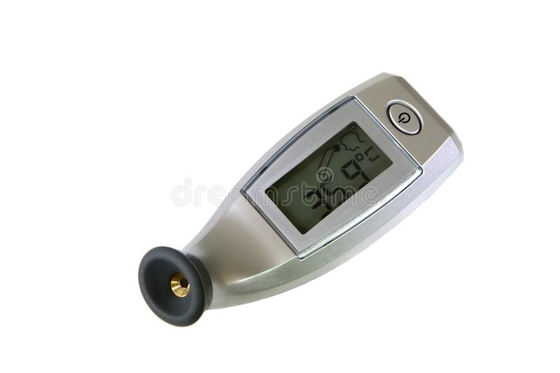 Download Temporal Thermometer stock image. Image of scale, health - 24175777