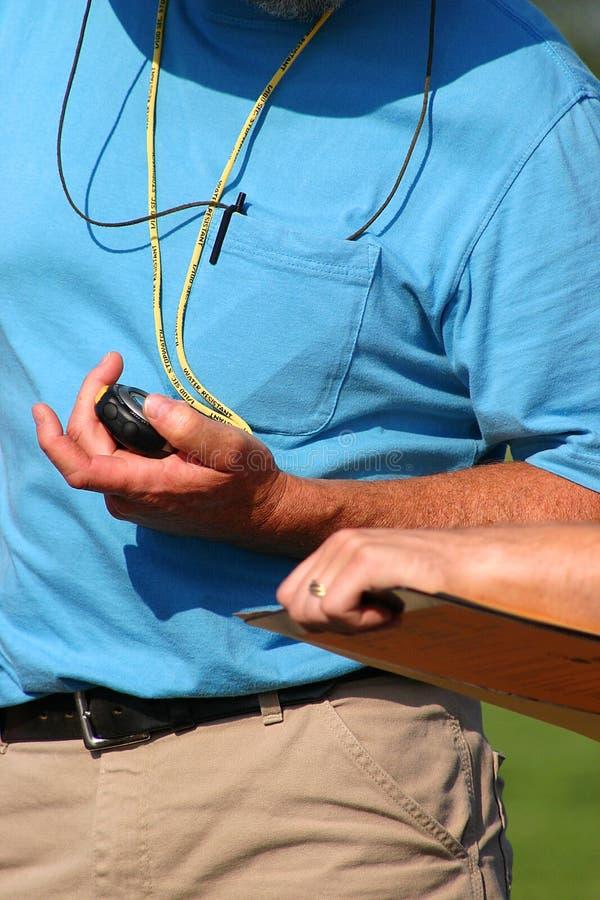 Temporizador con el cronómetro foto de archivo libre de regalías