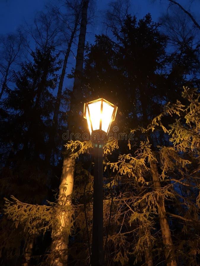 Tempos do soviete da lanterna elétrica fotos de stock royalty free