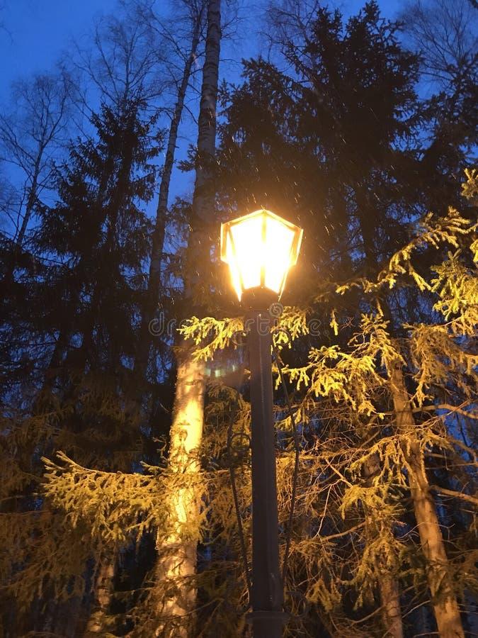 Tempos do soviete da lanterna elétrica imagem de stock royalty free