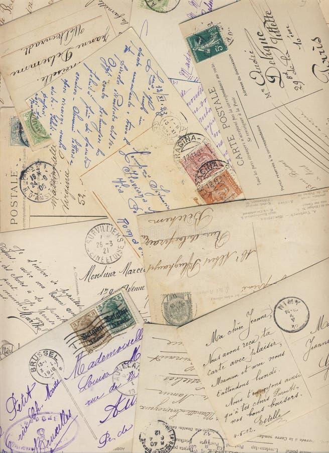 Temprano 900 postales fotografía de archivo