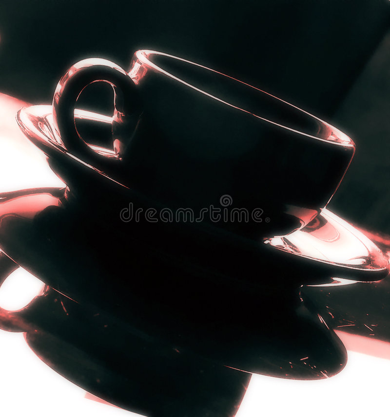 Temps 3 de café photographie stock